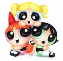 power puff girls by CuteQueenDee123