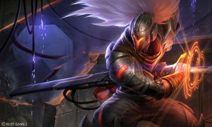 Early PROJECT: Yasuo Splash by Yideth