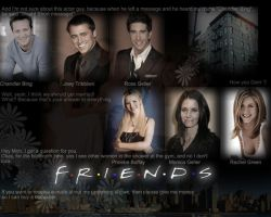 Friends wallpaper by marty-mclfy