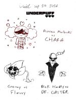 Underpuff AU ~ The Fallen Child (and Monsters) by Son-Void