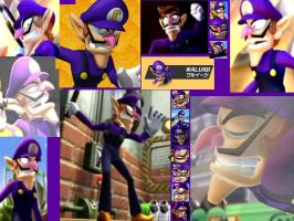 Waluigi wallpaper by ShadowWaluigi1826