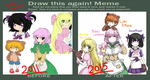 Draw this again (Pokemon OCs 2010 - 2011) by MemoriiMakiko