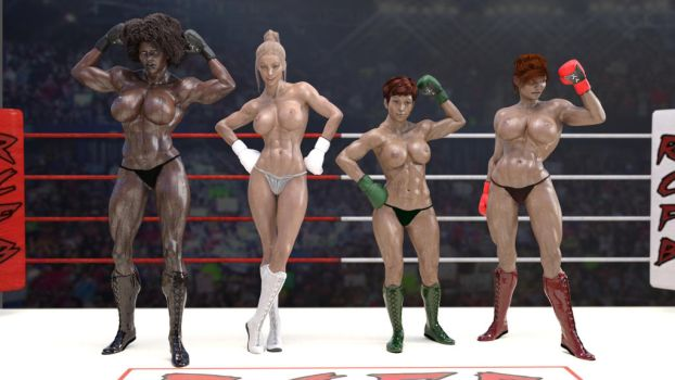 RCFB! Rox Corp's Foxy Boxing! Coming REAL soon... by RoxErotique