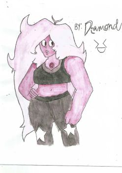 Amethyst From Steven Universe by DiamondplayerXD