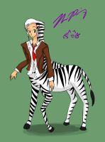 Zebra boy by TheReza13