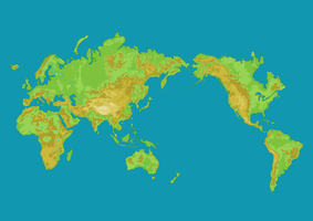 World Map by JoseSacred