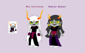 Mia Solitaire - Redesign by The-Concept-Artist