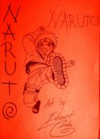 Naruto Super Drawing Color 01 by eduaarti