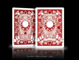 Playing Card Design by lexigeek