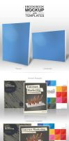 Ebook Book Cover Mockup with Ready Template by w4y