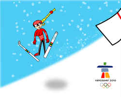 Winter Olympic 2010: Ski Jump by Christopia1984