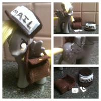Derpy Hooves MLP Custom *FOR SALE!* by FireflyLC