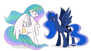 Neglective Sister~ by MLP-Firefox5013
