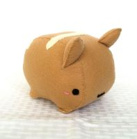 Kitty Bread Roll Plush by PinkChocolate14