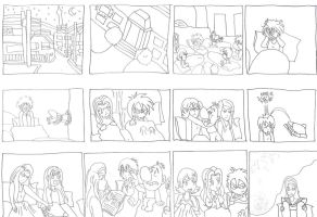 Quest beyond dreams prologue storyboard by Energywitch