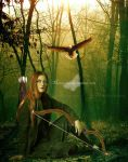 The Archer by maiarcita