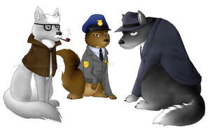 Gotham Animals: Gotham City P.D. by ShadOBabe
