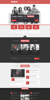 Andreas PSD Template by DarkStaLkeRR