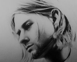 Kurt Cobain by Pecurialdetails
