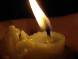 Candle-stock by ValentinaWhite