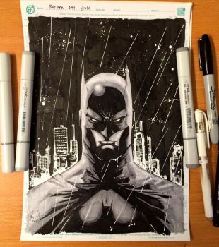 Happy Batman Day by krnozine