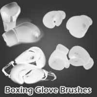 Boxing Glove Brushes by remygraphics