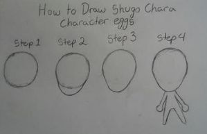 How to Draw Shugo Chara Character bodies by ninjacat66
