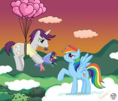 Rainbow Dash, be mine? by tarynsgate
