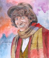 4th Doctor smile by MadelineSlytherin