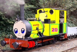 Molly The Yellow Tank Engine No.20 by grantgman