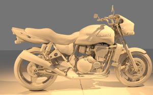 Motorcycle gray scale by DevonAG