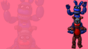 FNAF The-cute-Mignon and Dav screensaver by TJ-Fowkes