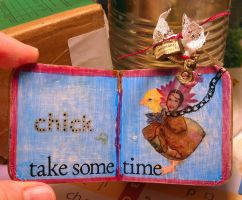 A Teeny-Tiny Altered Book by LauraTringaliHolmes
