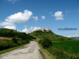 The Spis Castle by WiKkASs