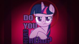 Wallpaper Twilight asking do you read by Barrfind
