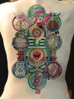Anime Tattoo 01 by GS by Proto-jekt