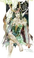 Lady Loki by fish-ghost