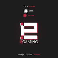 EGAMING logo by nOneART