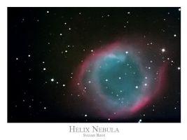Helix nebula by frenchbear