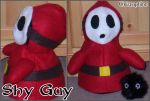 Shy Guy Plush by Cristophine
