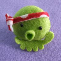 Karate Octopus Pocket Pet by Mimi-Mushroom