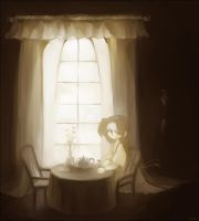 by the window by Tuyoki