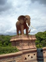 Elephant Statue 4 by Confussed-Stock