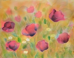 Poppies by TatianaGi-Gi