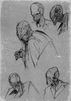 Studies for Babau by dcf