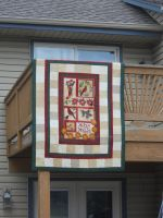 Cardal Chrisas Quilt by SarahPixel
