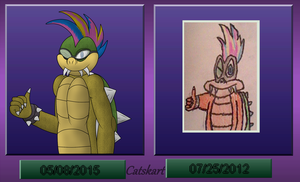 Iggy koopa - Comparison by catskart
