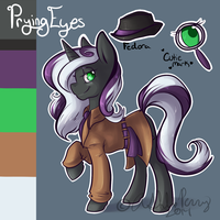 Custom MLP OC Prying Eyes by BlueKazenate