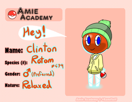 Clinton (Amie-academy) by Nomlakie