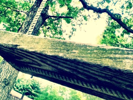 Swinging alone.. by LillyBelle420